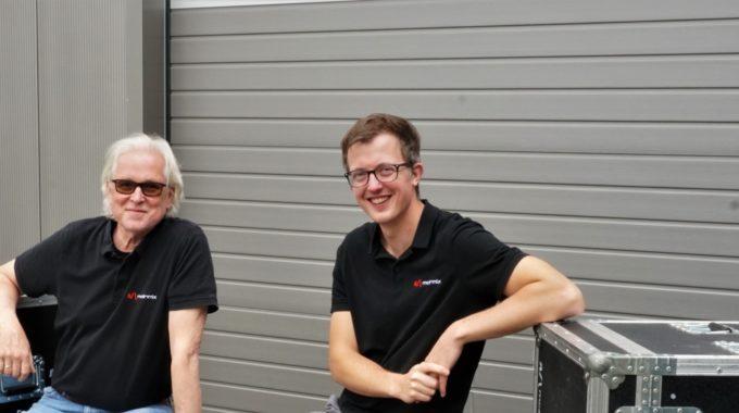 Fünf Fragen an…<br>Lucas Flock und Andreas Burghardt von Mainmix OnStage
