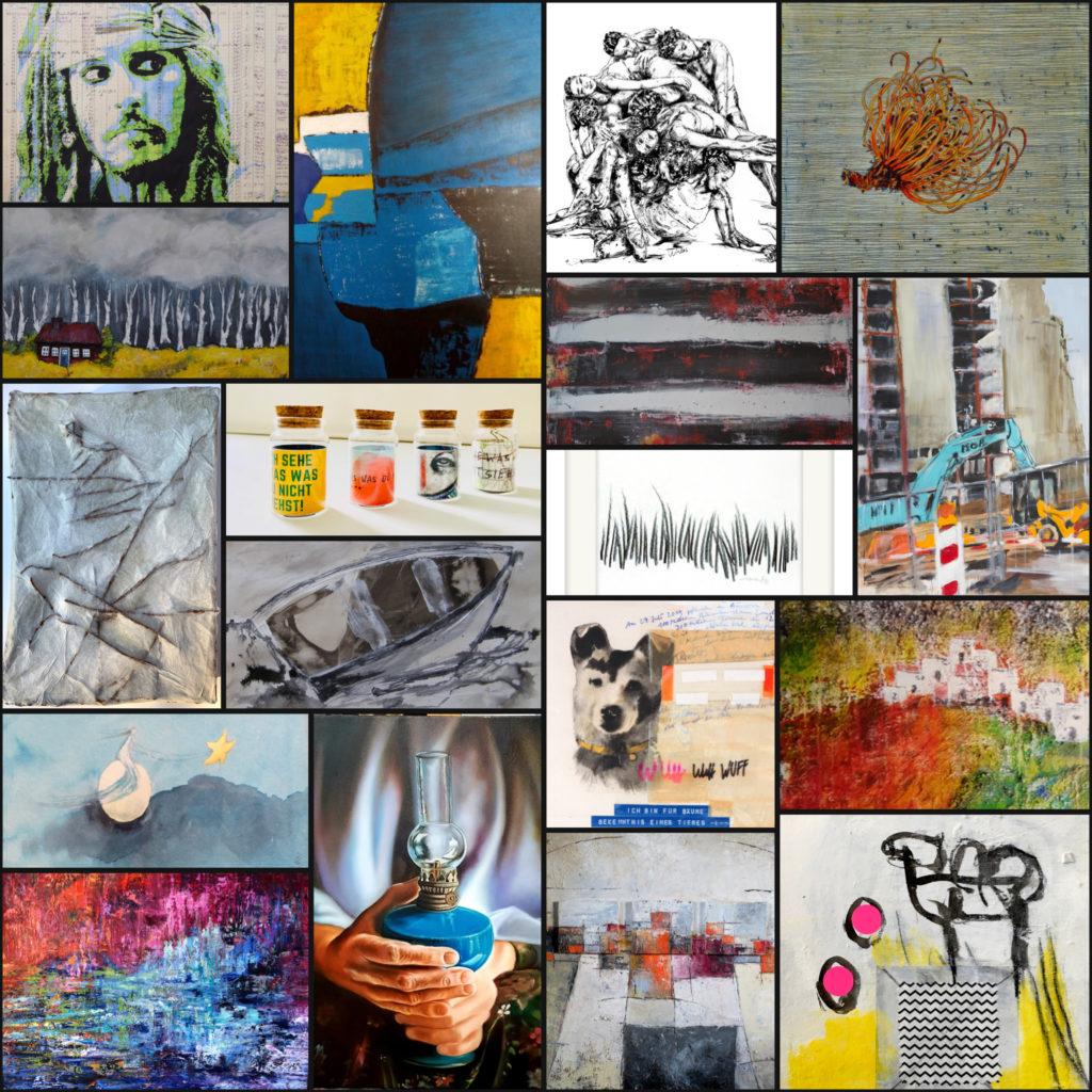 Collage Kunst Aus Schwerte