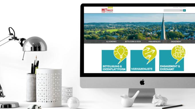 Neues Portal der MitMachStadt Schwerte ist online