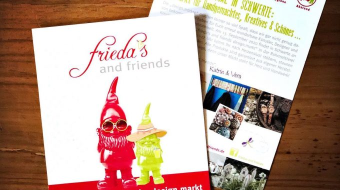 frieda's and friends design.markt – Schwertes Markt der guten Laune.