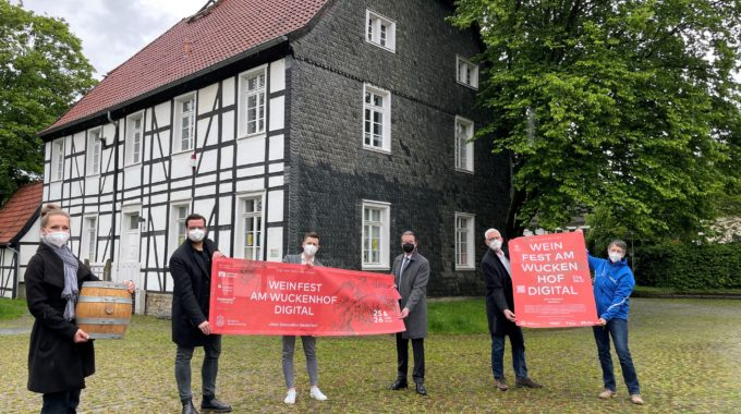 """Das """"Weinfest am Wuckenhof Digital"""" liefert Genuss und Unterhaltung nach Hause"""