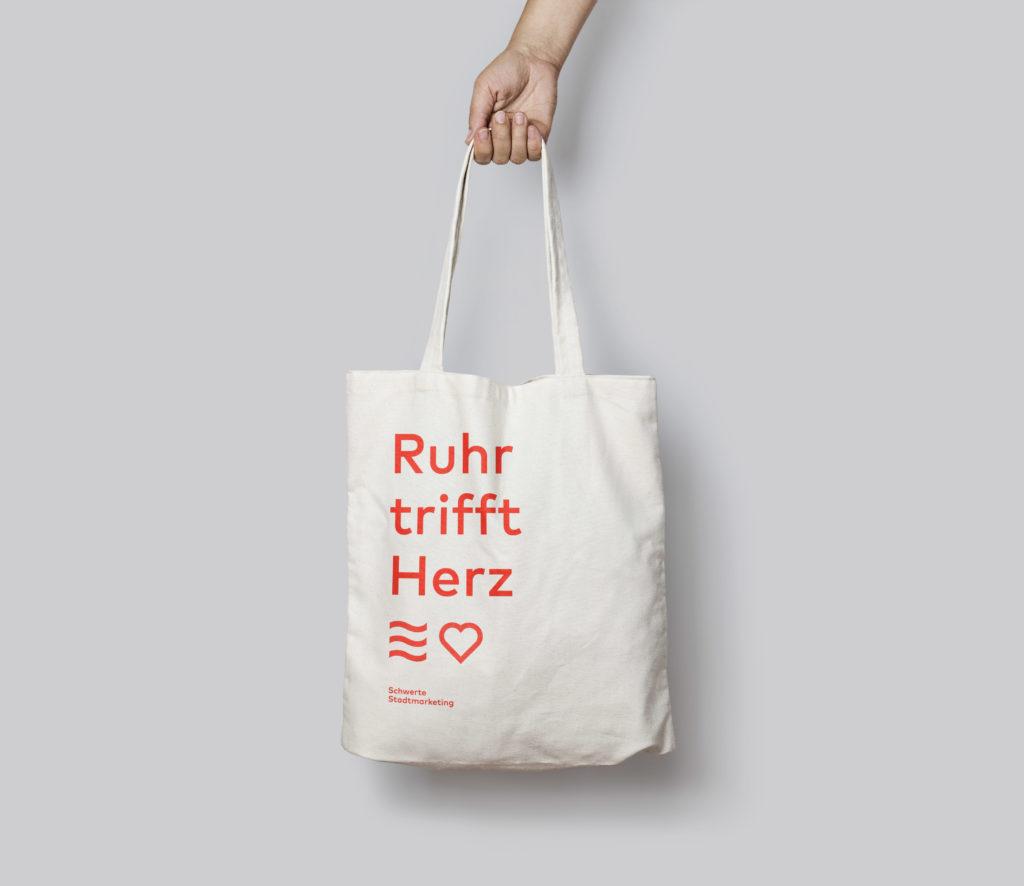 Schwerte Tote Bag Mockup Ruhrherz